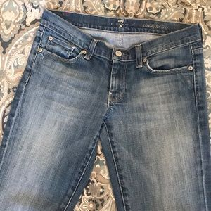 7 for all mankind original straight leg jeans